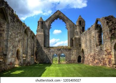 Old Shrewsbury abbey