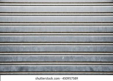 old shutter steel door texture