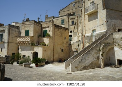 The old side of the town of Matera, Basilicata - Italy