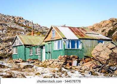Old ski hut, Ben Lomond National Park, Tasmania, Australia