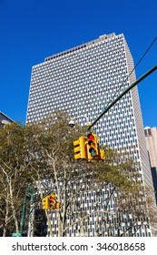old skyscraper in Manhattan, New York City