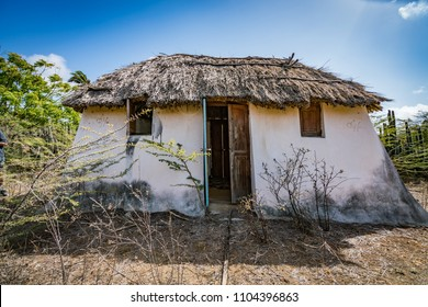 Old Slave house   Views around the small Caribbean Island of Curacao