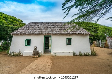 An old Slave hut (knuku)   Views around the small Caribbean island of Curacao