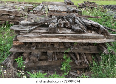 Old sleeper tracks,Old day