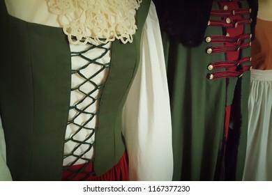 Old Slovene costume detail