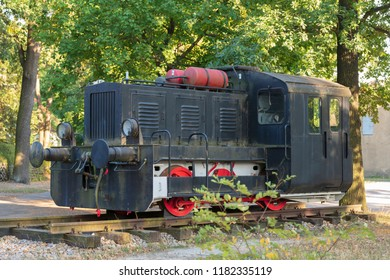 Old small locomotive