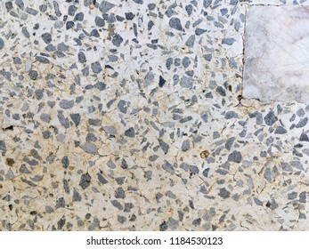 Old Small Stone Tile Texture For Background