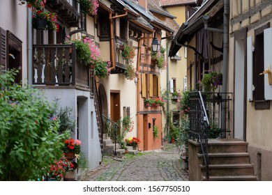 Old Small Town in France