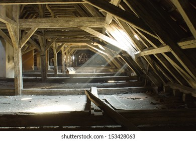 old soil with the old rafters