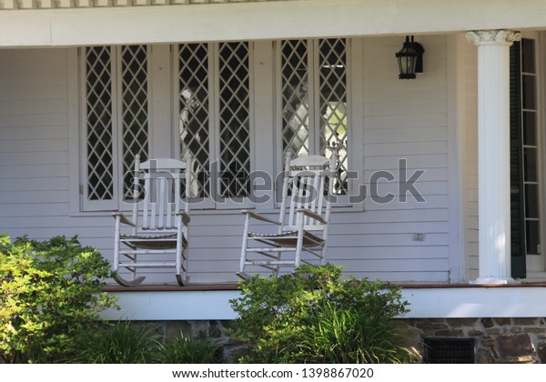 Groovy Old Southern Porch Rocking Chair Stock Photo Edit Now Gmtry Best Dining Table And Chair Ideas Images Gmtryco