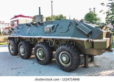 old soviet military machine btr
