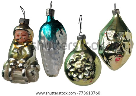 old soviet russian christmas decorations