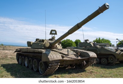 The Old Soviet tank T-72 has been used by the Syria, Iraq, Chechen in wars
