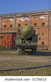 old soviet union nuclear rocket launcher