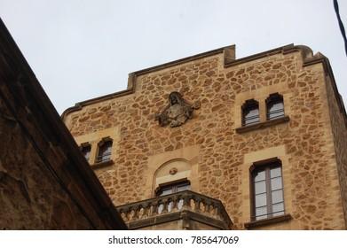 Old Spanish nunnery in Barcelona