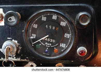 Old Speed Meter Car Stock Photo Edit Now 647676808 Shutterstock