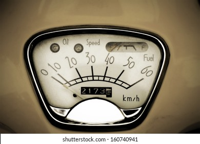 old speed odometer