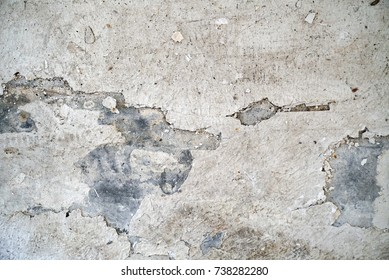 Old spilled wall texture