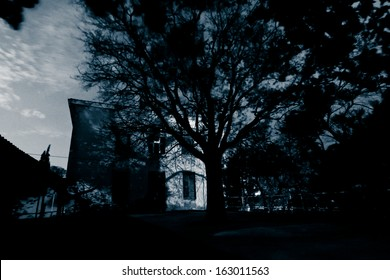 Old Spooky Abandoned House