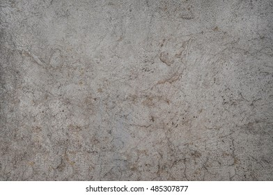 old spotty stained concrete wall texture background. gray color