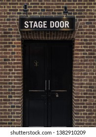 The old stage door entrance