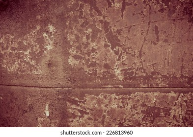 Old Stained metal surface, background and texture