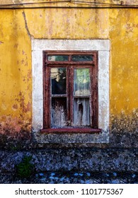 Old Stained Window