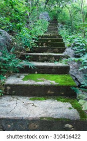 Old stairs,Stairs of Thailand