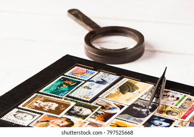 old stamp collecting