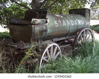 Old Standard Oil Fuel Wagon