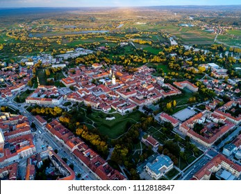 Old star in Karlovac city, beautiful old town, historical landmark of Croatia, Karlovac, city with 4 rivers
