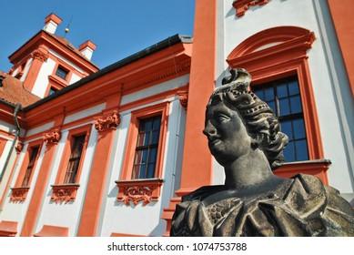Old Statue at chateau Troja - Prague