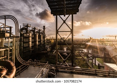 Old steel factory in Germany