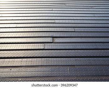 Old Steel Plate Pattern