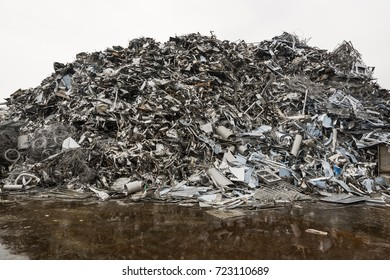 Old Steel products to be recycled