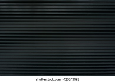 old steel rolling shutter background