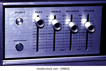Old Stereo Controls