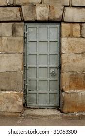 old stile door texture