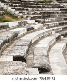 Old stone amphitheater