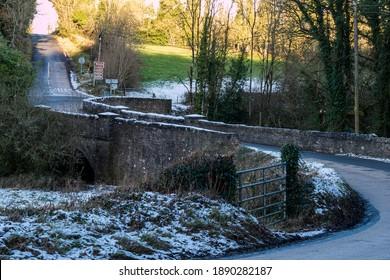 The old stone bridge in Killeshandra, Co.Cavan. Ireland.