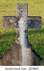 An old stone cross