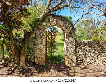 Old stone entrance