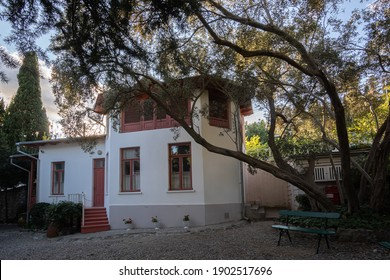 Old stone house in Yalta