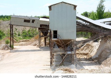 old stone processing plant