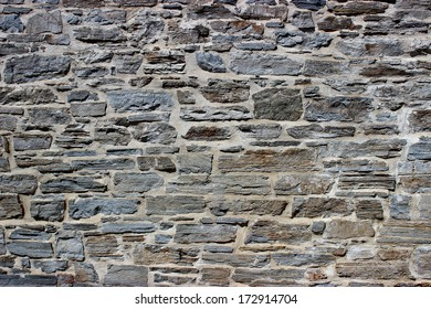 Old stone wall architecture detail