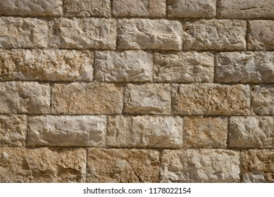 Old stone wall - background