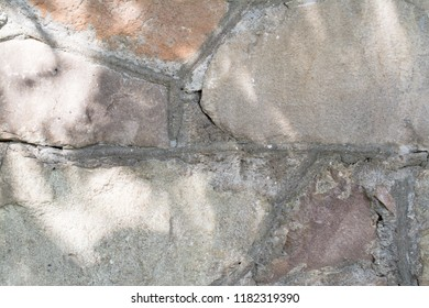 old stone wall background and texture abstract