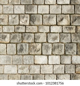 Old stone wall seamless 2k texture