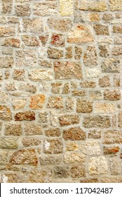 Old stone wall, texture background