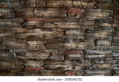 Old stone wall texture background for design and decoration.
